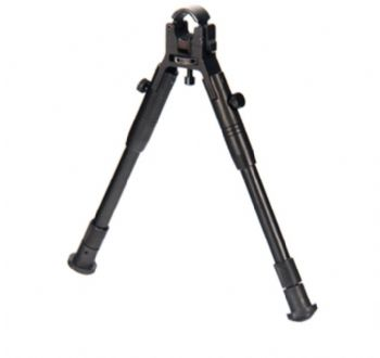 "Leapers UTG New Gen Reinforced Clamp-on Bipod, 8.7""-10.2"" Center Height TL-BP08S-A"
